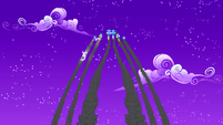 La entrada de los Wonderbolts 3