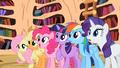 Main ponies surprised by Celestia's decision S2E3.png