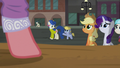 Mother and foal pass by the stage S5E16.png