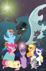 My Little Pony IDW comics announcement art