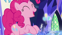 Pinkie Pie getting excited S6E12
