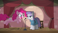 Pinkie Pie joining Maud on stage S8E3