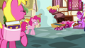 Pinkie Pie uncomfortable by the laughter S7E14.png