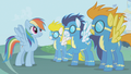 Rainbow Dash's fantasy with the wonderbolts S1E3.png