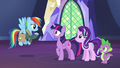 "Rainbow Dash ""does that mean there's bad news?"" S6E24.png"