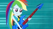 Rainbow Dash in Mane Event attire EG2