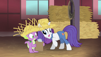 Rarity -who the hay is that- S4E13