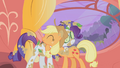 Rarity and Applejack hug S1E08.png