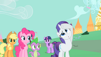 Rarity being dramatic S1E26