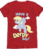 Red derpy day shirt from welovefine