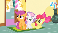 "Scootaloo ""need to try zip-lining again"" S1E23"