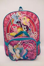 Sears My Little Pony backpack and pouch July 2012