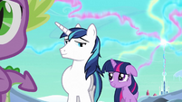 Shining Armor 'Starting to get embarrassing' S3E2
