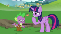 "Spike ""I am definitely finished"" S8E24"