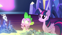 "Spike ""the map is calling me?!"" S7E15"