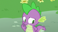Spike feeling embarrassed S8E24