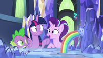 Starlight excited to be summoned by the map S7E10