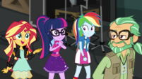 """Sunset Shimmer """"we won't get in the way"""" EGS2"""