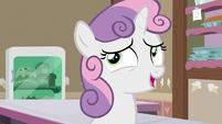 "Sweetie Belle ""from when I was a little filly"" S7E6"