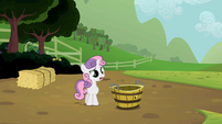 Sweetie Belle with empty tub S2E05