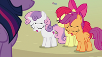 "Sweetie and Scootaloo ""it was our fault"" S8E6"