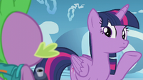 Twilight --his spell just went back a week-- S5E25
