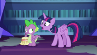 Twilight Sparkle --it was really powerful stuff-- S6E21