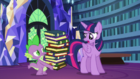 Twilight correcting Spike --tonight-- S6E21