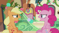 AJ and Pinkie -stop saying what I'm saying!- S5E20