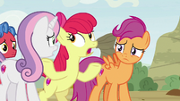 "Apple Bloom ""grown-up-style advice"" S9E22"