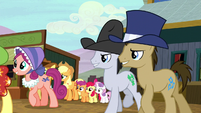 Appleloosa ponies follow Sheriff Silverstar S5E6