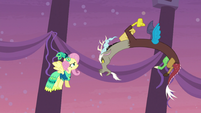 Discord snaps at Fluttershy S5E7
