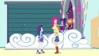 Equestria Girls shocked by AJ's words EGROF