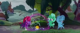 Fizzlepop Berrytwist's magic surges uncontrollably MLPTM