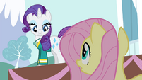 Fluttershy 'Otherwise, the fundraiser will be a disaster!' S4E14