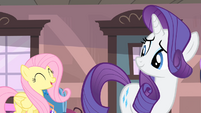 Fluttershy 'We're sure you'll win' S4E08