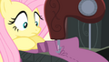 Fluttershy having trouble sewing S4E08.png