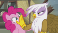 Gilda stops Pinkie from singing S5E8.png