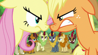 Kirin watch Fluttershy and AJ argue again S8E23