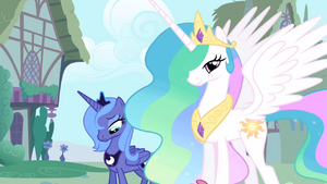 Luna Celestia Ponyville welcome S1E02