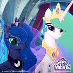 MLP The Movie Celestia and Luna Twitter image