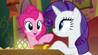 Pinkie Pie --I think that friendship problem-- S6E12