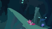 Pinkie Pie clone sliding down S3E03