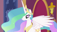Princess Celestia waiting S2E02