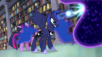 Princess Luna saving Twilight in her dream S5E13