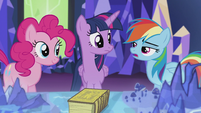 Rainbow -And why do you care so much about griffons anyway-- S5E8