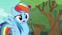 Rainbow Dash --distance bucking--- S6E18