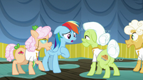 Rainbow Dash apologizes to the grannies S8E5