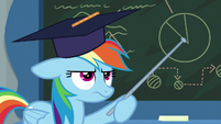 Rainbow Dash bored with teaching S8E1