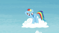 Rainbow observing from a cloud S4E26